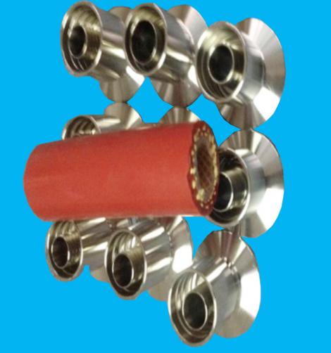 卡芙拉线加强编织硅胶软管BK40