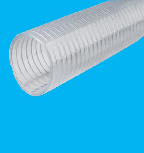 食品级硅胶钢丝软管PU10
