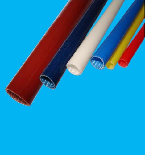 耐高温硅胶纤维套管