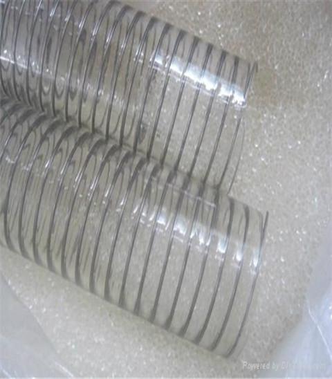 食品级PU钢丝软管