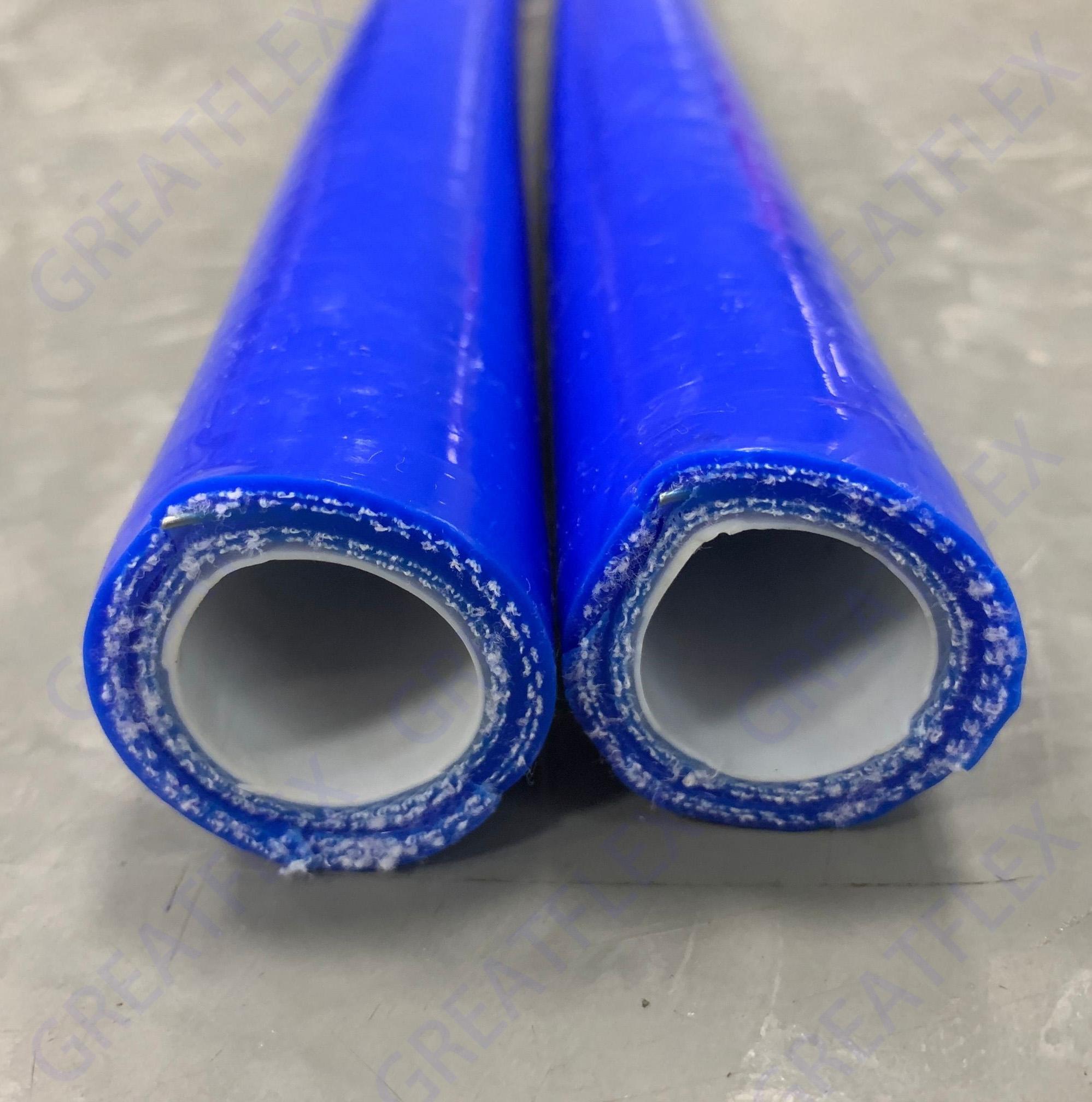 耐溶剂化工内层氟橡胶硅胶管FV20B