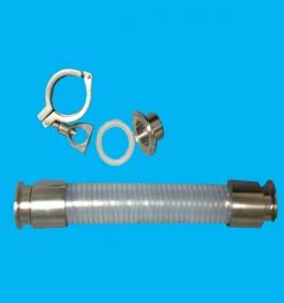 哈尔滨食品级硅胶钢丝软管FU00