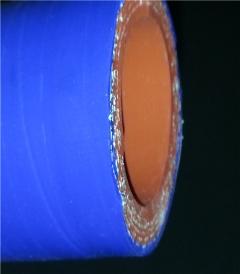 四层网纹编织增强铂金硅胶管FP40B