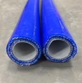 武汉耐溶剂化工内层氟橡胶硅胶管FV20B